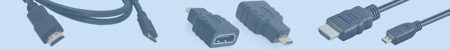 HDMI / MINI HDMI / MICRO HDMI КАБЕЛИ И АДАПТЕРЫ