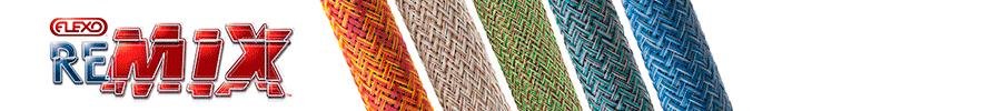 Фото Flexo reMix Круглая оплётка смешенных расцветок