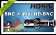 Фото Новый адаптер для перехода с BNC штекера на mini HD-BNC штекер