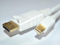 Фото DP-MDP-32-MM-.. Цифровой кабель DisplayPort, версия 1.1, Mini-DisplayPort штекер > DisplayPort штекер