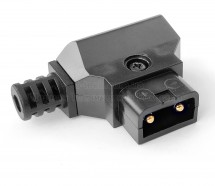 Фото DC-DTAP-M4 Разъём питания D-Tap, штекер на кабель, 2 контакта + хвостовик