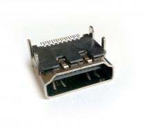 Фото VC-HDFP - Разъем HDMI гнездо на панель, контакты - покритие золото