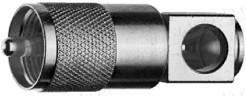 Фото J01040B1200 Корпус комбинированного разъема UHF · 50 Ом | штекер
