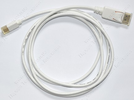 Фото4 DP-MDP-32-MM-.. Цифровой кабель DisplayPort, версия 1.1, Mini-DisplayPort штекер > DisplayPort штеке