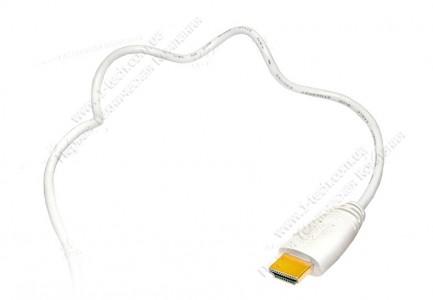 Фото2 HDMIC-MM-0.. Компактный эластичный кабель HDMI с Fast Ethernet, серия Compact, штекер (тип A) > штек
