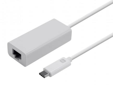 Фото1 MNP-ADA-USBC2ETH - Адаптер USB 3.1 (тип С) штекер > гнездо RJ45 Gigabit Ethernet