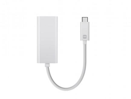 Фото2 MNP-ADA-USBC2ETH - Адаптер USB 3.1 (тип С) штекер > гнездо RJ45 Gigabit Ethernet