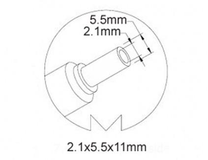 Фото2 SYS1421-0605-W2E - Блок питания, 5В, 1.2 A, 2.1 х 5.5 мм