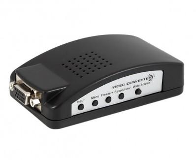 Фото1 FLY7503. - Преобразователь сигналов (RCA, COMPOSITE, S-VIDEO) в VGA