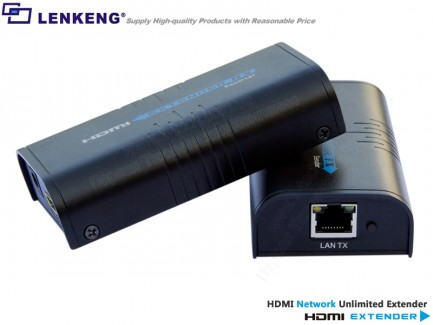 Фото2 LKV373 - Удлинитель линий HDMI (версия 1.3) по одному кабелю витая пара (5/5e/6 Кат) на длины до 120