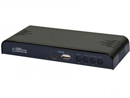 Фото2 LKV391MINI -  Универсальный скаллер-конвертер-коммутатор, USB проигрыватель HDMI для домашних киноте