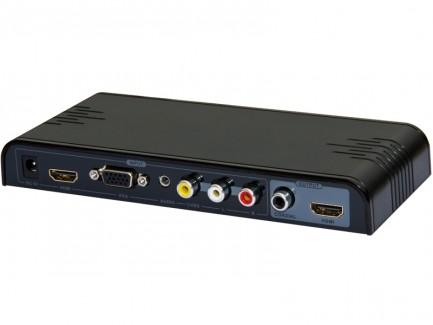 Фото1 LKV391MINI -  Универсальный скаллер-конвертер-коммутатор, USB проигрыватель HDMI для домашних киноте