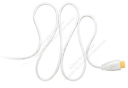 Фото1 HDMIC-MM-0.. Компактный эластичный кабель HDMI с Fast Ethernet, серия Compact, штекер (тип A) > штек