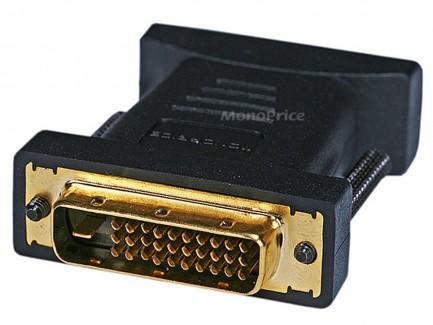 Фото3 MNP-ADA-DVID2M1D-FM - Адаптер проходной DVI-D Dual Link гнездо > M1-D(P&D) штекер, удлинённые винты