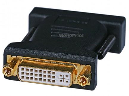 Фото2 MNP-ADA-DVID2M1D-FM - Адаптер проходной DVI-D Dual Link гнездо > M1-D(P&D) штекер, удлинённые винты