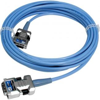 Фото3 CAB-HDTV-..MM Цифровой оптический кабель DVI-D, серия Extreme FO, с встроенным преобразователем сигн