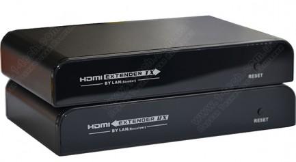 Фото1 LKV373IR - Удлинитель сигнала HDMI и ИК-управления по одному кабелю витая-пара СAT5 на расстояние до