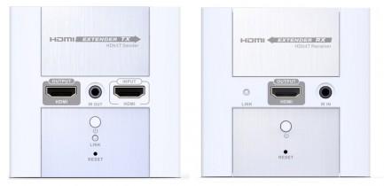 Фото3 LKV383W. Удлинитель линий HDMI по одному кабелю 5/5e/6 Кат. на длины до 120 м, в корпусе настенной р