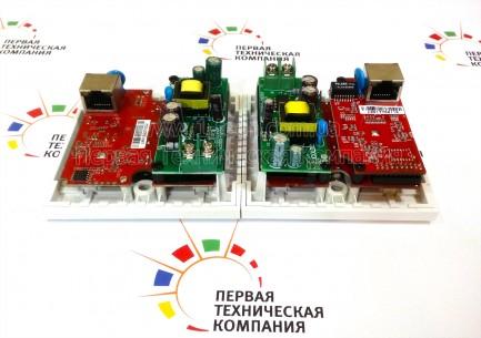 Фото7 LKV383W. Удлинитель линий HDMI по одному кабелю 5/5e/6 Кат. на длины до 120 м, в корпусе настенной р