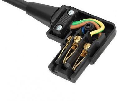Фото4 4785.0000 - Разъем питания C13, угловой, гнездо на кабель, 250B, 10A, 3 контакта, IEC 60320