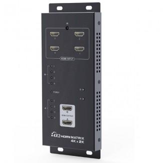 Фото3 LKV342pro - Матричный коммутатор цифровых сигналов HDMI (версия 1.4) 4k*2k, 4xHDMI видео источника >