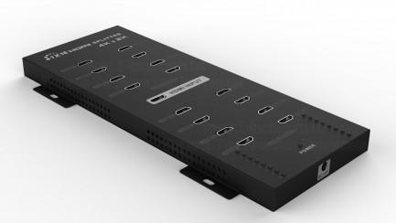 Фото1 LKV316 - Сплиттер сигналов HDMI 1:16 (версия 1.4) 4k*2k, 1 вход HDMI > 16 выходов HDMI, поддержка 3D