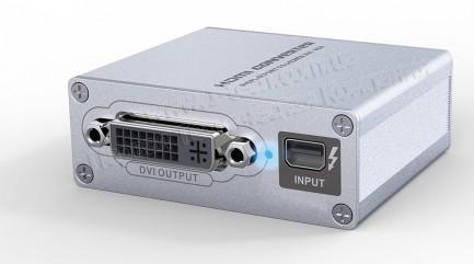 Фото1 LKV178 - Преобразователь цифрового сигнала Mini DisplayPort / ThunderBolt в сигналы HDMI, DVI, VGA