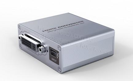 Фото3 LKV178 - Преобразователь цифрового сигнала Mini DisplayPort / ThunderBolt в сигналы HDMI, DVI, VGA