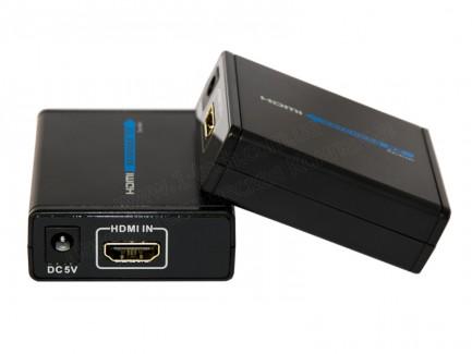 Фото2 LKV372 - Удлинитель линии HDMI (версия 1.4) по одному кабелю витая пара CAT5/6/7 на расстояние до 50