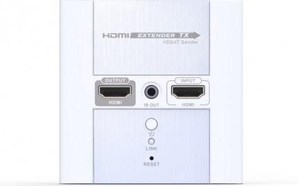 Фото1 LKV383W. Удлинитель линий HDMI по одному кабелю 5/5e/6 Кат. на длины до 120 м, в корпусе настенной р