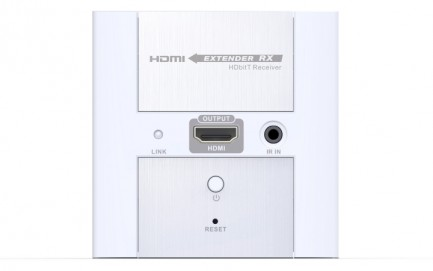 Фото2 LKV383W. Удлинитель линий HDMI по одному кабелю 5/5e/6 Кат. на длины до 120 м, в корпусе настенной р