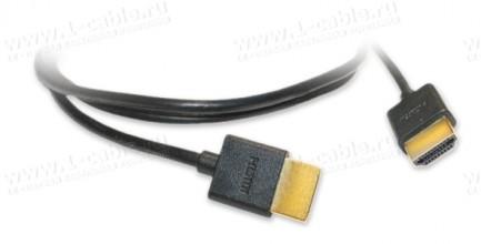 Фото4 HDMIC-MM-0.. Компактный эластичный кабель HDMI с Fast Ethernet, серия Compact, штекер (тип A) > штек
