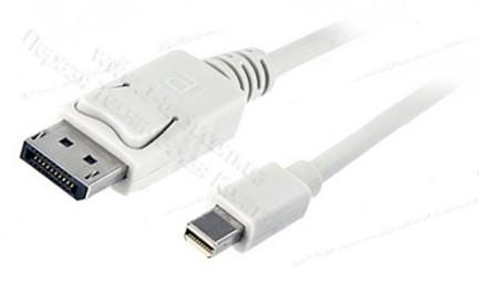 Фото1 MDP2DP-MM-0. Цифровой кабель DisplayPort, версия 1.1, Mini DisplayPort штекер > DisplayPort штекер
