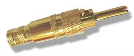 """Фото1 AC-MT-192.-11 Разъем """"банан"""", штекер, на кабель сечением 14 мм2"""
