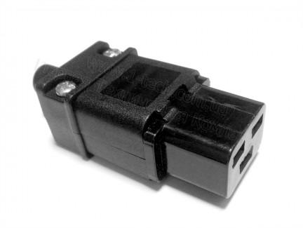 Фото2 ACP-320C19 - Гнездо кабельное приборное 220B, 3 контакта, IEC 60320 C19