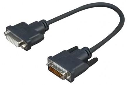 Фото1 ADDVIMF0.2 Соединительный кабель DVI штекер > DVI гнездо, длина 0.2 м.