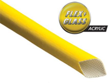 Фото1 AGA... Электроизоляционная термозащитная кабельная оплетка (стекловолокно покрытое акриловой смолой)