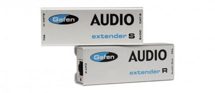 Фото1 EXT-AUD-1000 - Удлинитель звуковых аналоговых линий по витой паре (5e Cat) на 300 м, аналоговый стер