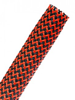 Фото4 PTT1.25 Круглая Кабельная Оплетка плотного плетения Tight Weave- 3.18 см, диапазон растяжки 25.4-42.