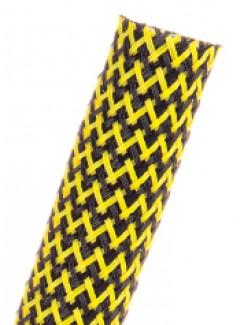 Фото2 PTT1.25 Круглая Кабельная Оплетка плотного плетения Tight Weave- 3.18 см, диапазон растяжки 25.4-42.