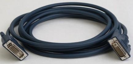 Фото1 CABDV-109-SS-. Цифровой кабель DVI-D компактный, штекер > штекер