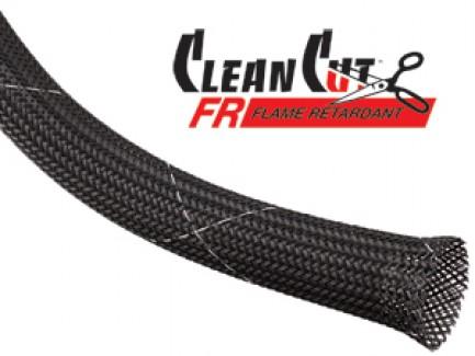 Фото1 CCF.... Круглая Кабельная Огнеупорная Оплетка плотного плетения Clean Cut FR
