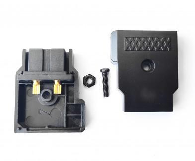 Фото3 DC-DTAP-F - Разъём питания D-Tap, гнездо на кабель, 2 контакта