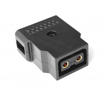 Фото1 DC-DTAP-F - Разъём питания D-Tap, гнездо на кабель, 2 контакта