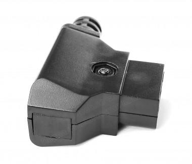 Фото2 DC-DTAP-M4 Разъём питания D-Tap, штекер на кабель, 2 контакта + хвостовик