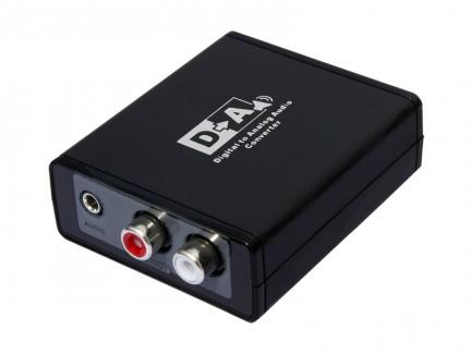 Фото1 LKV3088 - преобразователь цифровых аудио сигналов S/PDIF и TOSLink в аналоговые стерео (без поддержк