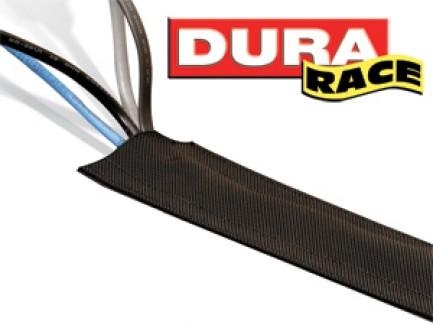Фото1 DRN..00BK Защитный эластичный кабельный трап для коврового покрытия на липучке