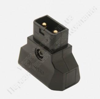 Фото9 AC-DTAP-M -  Разъём питания D-Tap, кабельный, 2 контакта, покрытие контактов - золото, разборной кор