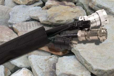 Фото2 DWN.. Застегивающаяся нейлоновая кабельная оплетка повышенной прочности Dura Wrap на замке-липучке