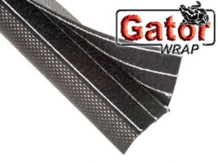 Фото1 DWG...BK Застёгивающаяся Защитная Оплётка на замке-липучке для экстримальных нагрузок Gator Wrap